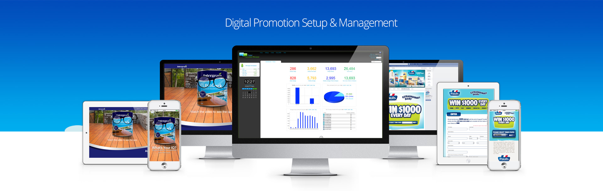 Digital Promotion Setup and Managment