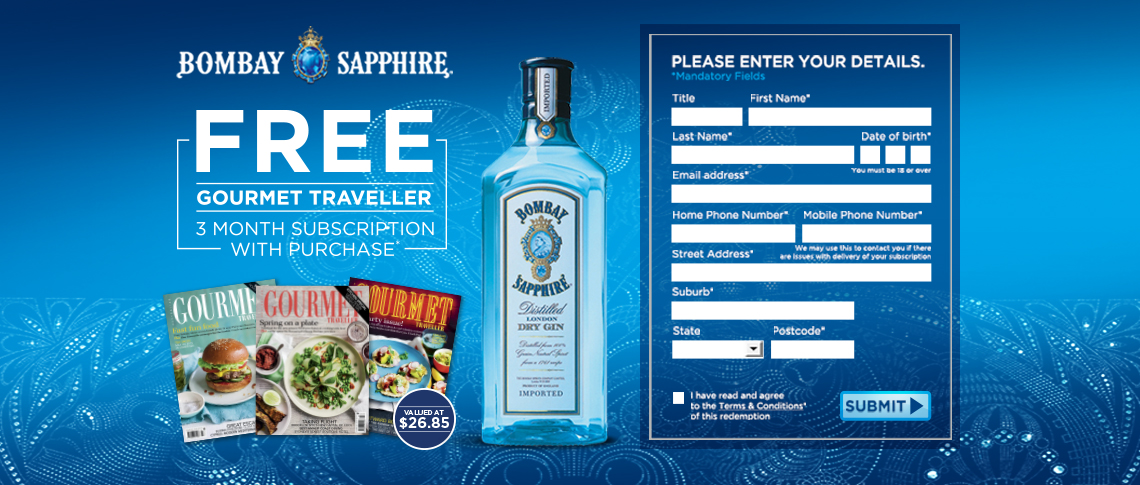 Online Competition Case Study: Bombay Sapphire Gift Offer