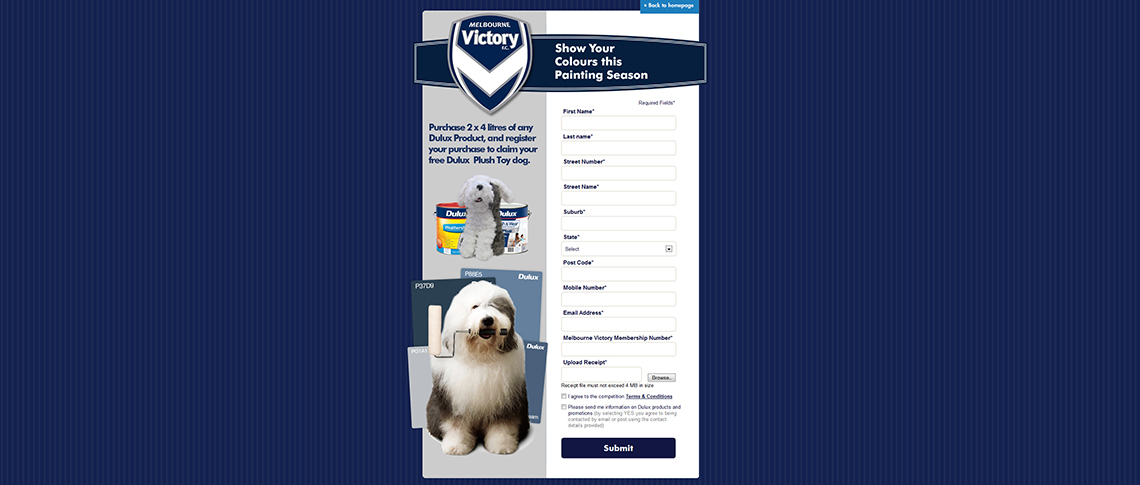 Online Giveaway Case Study: Dulux 80 Years